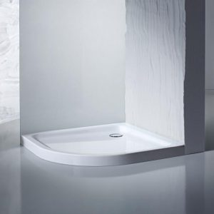 Kaldewei Ambient Arrondo 870 – 1 Steel Quadrant Shower Tray – 900 X 900 X 25mm – With Support – 460048040001