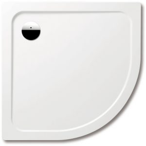 Kaldewei Ambient Arrondo 870 – 1 Steel Quadrant Shower Tray – 1000 X 1000 X 65mm With Support – 460548040001