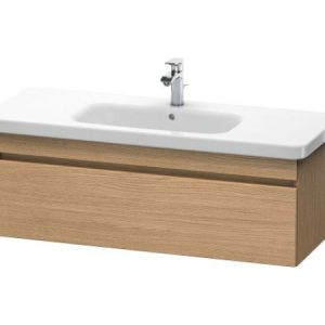 Duravit DuraStyle 1 Pull Out Compartment Vanity Unit And Basin – 0 TH – 1130mm Wide – European Oak