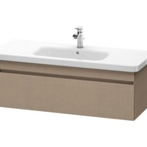 Duravit DuraStyle 1 Pull Out Compartment Vanity Unit And Basin – 0 TH – 1130mm Wide – Linen