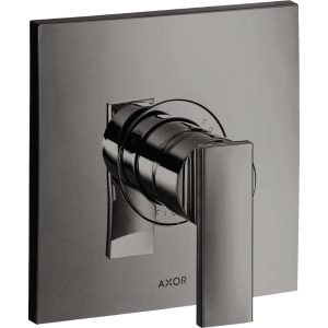 Hansgrohe Axor Citterio Concealed Manual Single Lever Shower Mixer Tap With Lever Handle – Polished Black Chrome