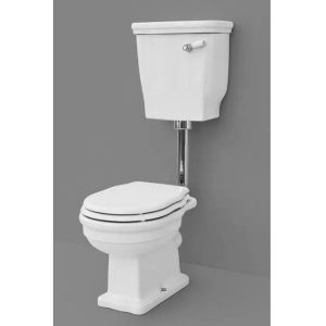 Eastbrook Fino Toilet For High Or Low Level Cistern – White